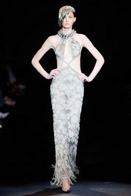 Armani Prive Haute Couture F/W 09.10 - Sigrid Agren