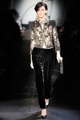 Armani Prive Haute Couture F/W 09.10 - Kori Richardson