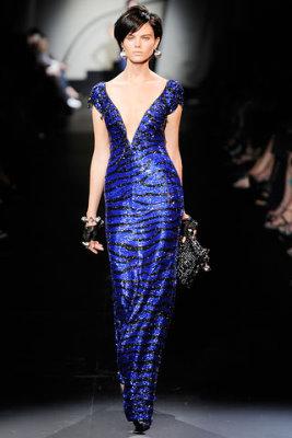 Armani Prive Haute Couture F/W 09.10 - Maryna Linchuk