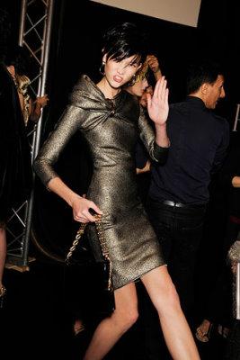 Armani Prive Haute Couture F/W 09.10 - Karlie Kloss