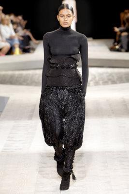 Givenchy Haute Couture F/W 09.10 - Lakshmi Meono