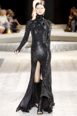 Givenchy Haute Couture F/W 09.10 - Kasia Struss