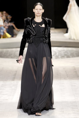 Givenchy Haute Couture F/W 09.10 - Karolin Wolter