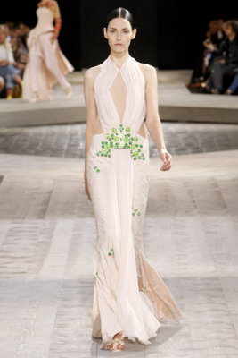 Givenchy Haute Couture F/W 09.10 - Danielle Zinaich