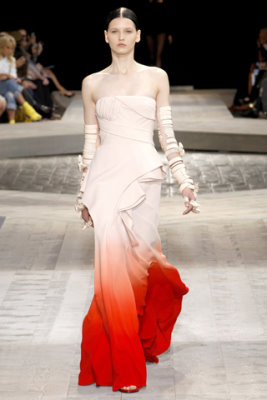 Givenchy Haute Couture F/W 09.10 - Katlin Aas