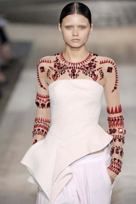 Givenchy Haute Couture F/W 09.10 - Abbey Lee