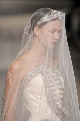 Givenchy Haute Couture F/W 09.10 - Karlie Kloss