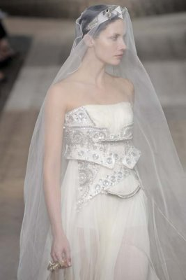 Givenchy Haute Couture F/W 09.10 - Ana Claudia Michels