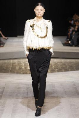 Givenchy Haute Couture F/W 09.10 - Magdalena Frackowiak
