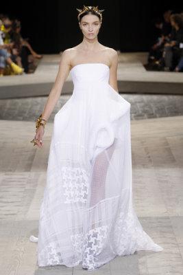 Givenchy Haute Couture F/W 09.10 - Mariacarla Boscono