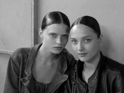 Givenchy Haute Couture F/W 09.10 - Abbey Lee & Karmen Pedaru
