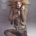 Vogue Paris August 2009 - Lily Donaldson