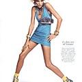 Vogue Paris August 2009 - Anja Rubik