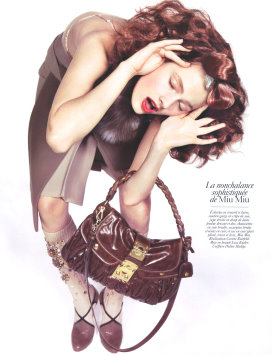 Vogue Paris August 2009 - Constance Jablonski