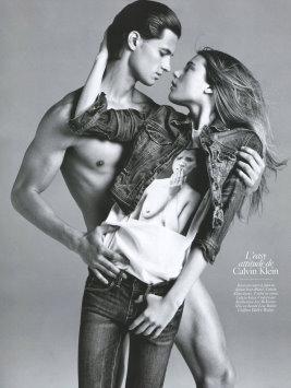 Vogue Paris August 2009 - Garrett Neff & Dree Hemingway