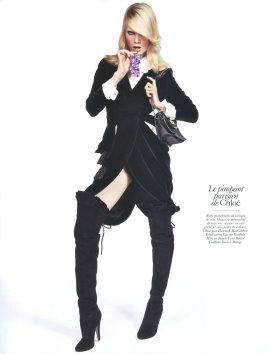 Vogue Paris August 2009 - Elsa Sylvan