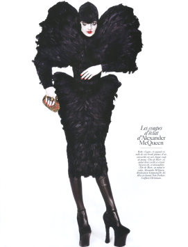 Vogue Paris August 2009 - Eniko Mihalik
