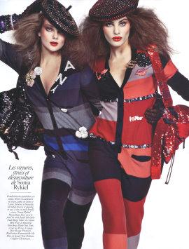 Vogue Paris August 2009 - Eniko Mihalik & Isabeli Fontana