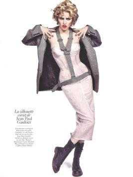 Vogue Paris August 2009 -  Lara Stone