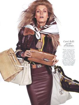 Vogue Paris August 2009 -  Malgosia Bela