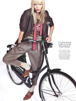 Vogue Paris August 2009 -  Natasha Poly