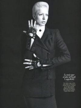 Vogue Paris August 2009 -  Raquel Zimmermann