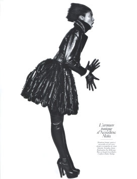Vogue Paris August 2009 -  Sessilee Lopez