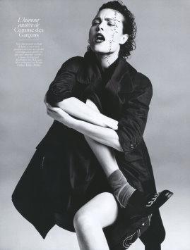 Vogue Paris August 2009 -  Shalom Harlow
