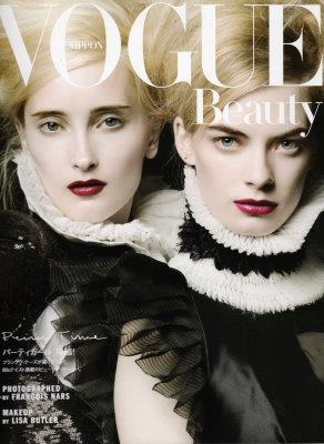 Vogue Nippon September 2009 :Iekeliene Stange, Julia Dunstall
