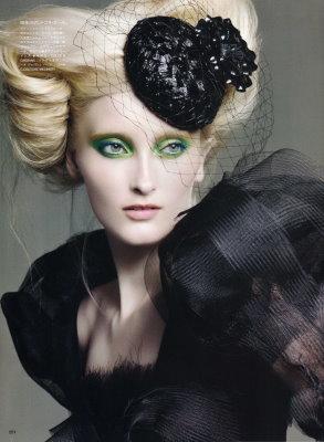 Vogue Nippon September 2009 :Iekeliene Stange