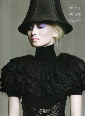 Vogue Nippon September 2009 :Daul Kim