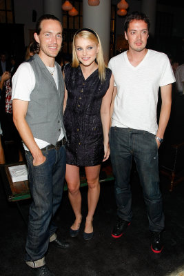 Intermix Celebrates Rag & Bone - David Neville , Marcus Wainwright ,Jessica Stam