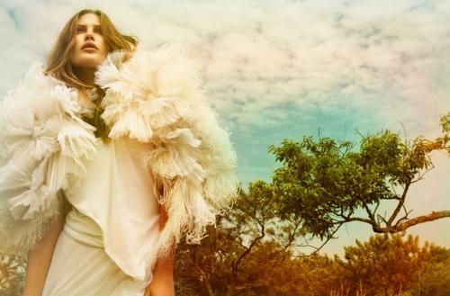 Vogue Australia September 2009 - Catherine McNeil
