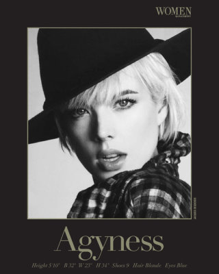 Show Packages-NY SS 10: Women - Agyness Deyn