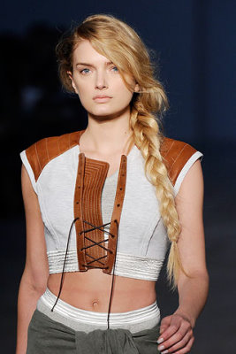 Alexander Wang S/S 2010 - Lily Donaldson