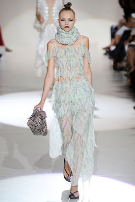Marc Jacobs S/S 2010 - Anabela Belikova