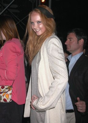 Rage NY Premiere - Lily Cole