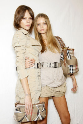 Burberry Prorsum S/S 2010 - Freja Beha Erichsen & Abbey Lee