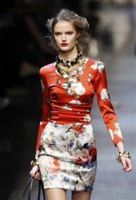 Dolce & Gabbana S/S 2010 - Katie Fogarty