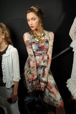 Dolce & Gabbana S/S 2010 - Ksenia Kahnovich