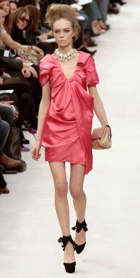 Louis Vuitton F/W 2009 - Siri Tollerod