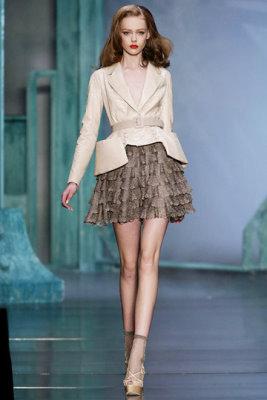 Christian Dior S/S 2010 - Frida Gustavsson