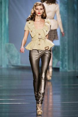 Christian Dior S/S 2010 - Maryna Linchuk