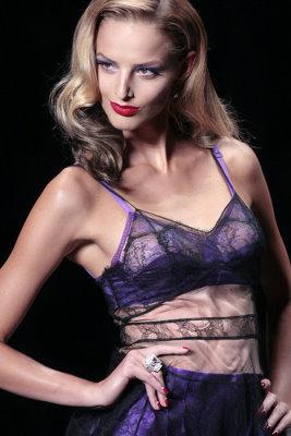 Christian Dior S/S 2010 - Michaela Kocianova