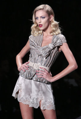 Christian Dior S/S 2010 - Anja Rubik