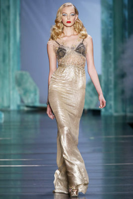 Christian Dior S/S 2010 - Tanya Dziahileva