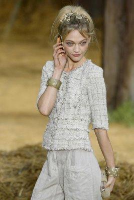 Chanel S/S 2010 - Sasha Pivovarova