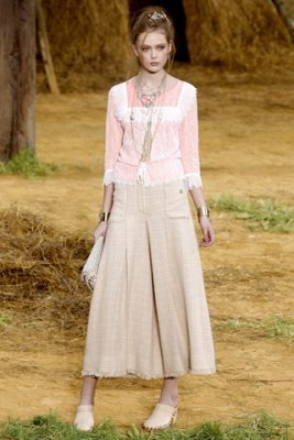 Chanel S/S 2010 - Frida Gustavsson