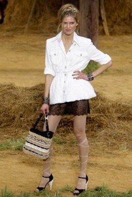 Chanel S/S 2010 - Iselin Steiro