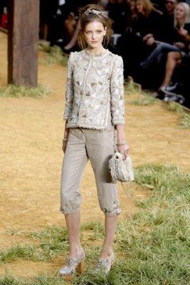 Chanel S/S 2010 - Imogen Morris-Clarke